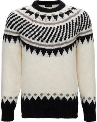Roberto Collina Ikat Pattern Sweater