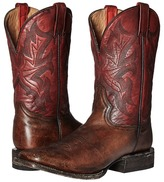 Stetson 11 Double Welt Wide Square Toe Cowboy Boots
