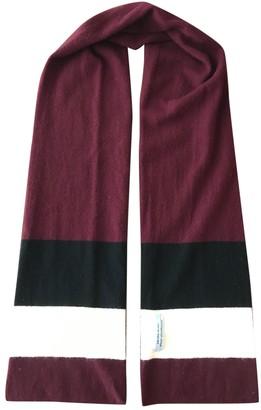 Prada Burgundy Other Scarves & pocket squares