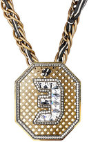 Lanvin WOMEN'S EMBELLISHED PENDANT NECKLACE