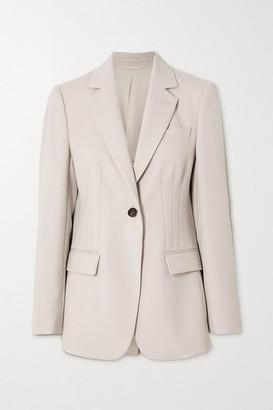 Brunello Cucinelli Wool-twill Blazer - Ivory