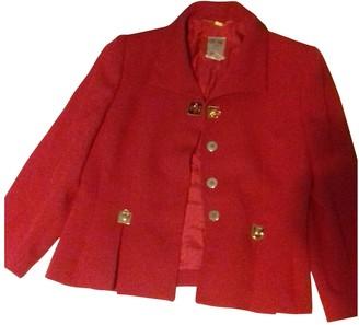 Celine Red Wool Jackets