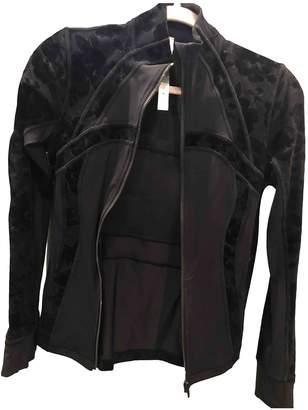 Lululemon Black Polyester Jackets