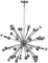 "Safavieh Starburst Sputnik 20 Light Chrome 31"" Dia Pendant Lamp"