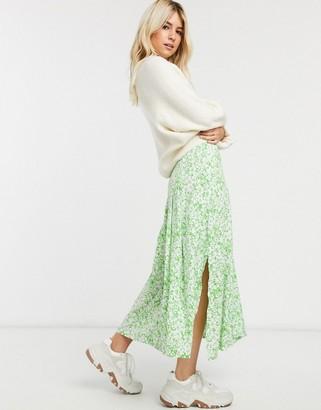 Faithfull The Brand Faithfull cuesta floral midi skirt