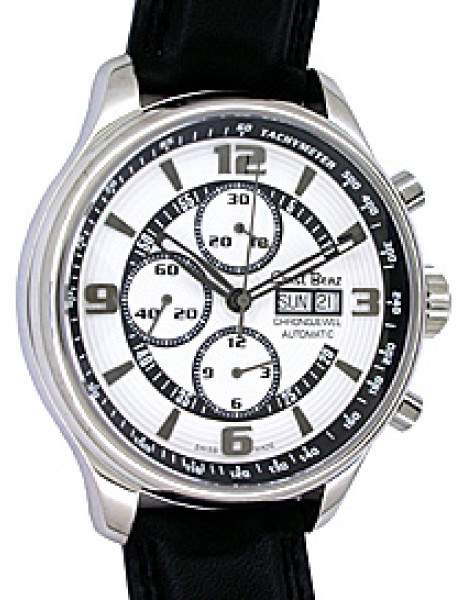 "Ernst Benz Chronojewel Chronograph"" Stainless Steel Mens Watch"