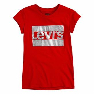 Levi's Girls' Toddler Sportswear Graphic T-Shirt