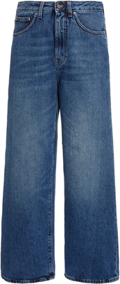 Totême Flair Rigid High-Rise Wide-Leg Jeans