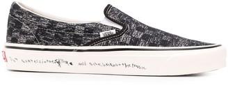 Vans x Jim Goldberg TV Static slip-on sneakers