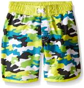 iXtreme Little Boys Happy Camo Boardshort