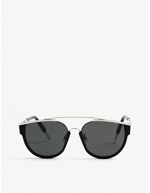 Gentle Monster Loe tinted D-frame sunglasses