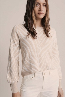 Witchery Tiger Jacquard Knit