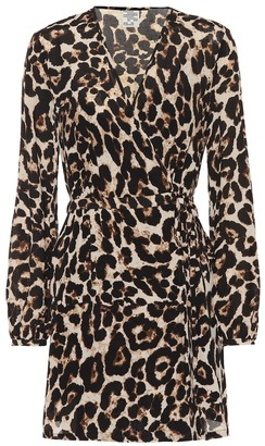 Baum und Pferdgarten Exclusive to Mytheresa Augusta leopard minidress