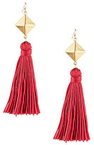 Anna & Ava April Tassel Statement Drop Earrings