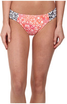 Tommy Bahama Coral Medallion Side Shirred Hipster Bottom