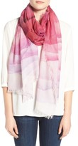 Nordstrom Women's Prismatic Color Play Cashmere & Silk Scarf