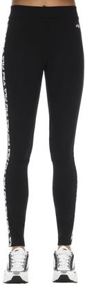 Fila Urban Logo Tape Stretch Cotton Leggings