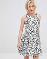 Greylin Bruna Floral Lace Dress