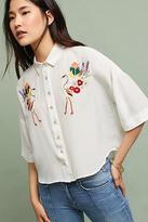 Carolina K. Flamingo Silk Shirt