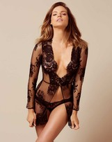 Agent Provocateur Darcia Gown Black