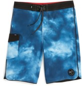 Vans Boy's Mixed Scallop Board Shorts