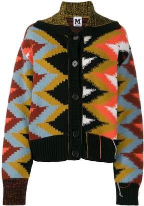 M Missoni all-over pattern cardigan