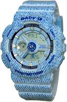 Casio Women's Baby-G BA110DC-2A3 Plastic Quartz Watch