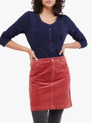 White Stuff Sycamore Cord Mini Skirt