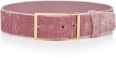 Elie Saab High Waist Velvet Belt