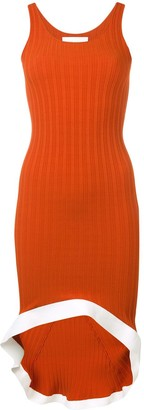 Esteban Cortazar Ribbed Tank Dress
