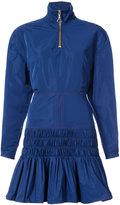 Ellery ruched rain jacket dress