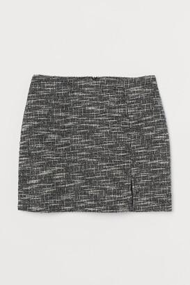 H&M Short jersey skirt
