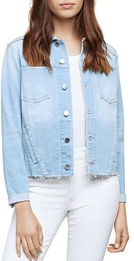 L'Agence Celine Slim Fit Femme Denim Jacket