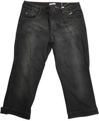 Marella Anthracite Cotton - elasthane Jeans for Women