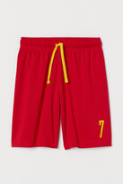 H&M Soccer Shorts - Red