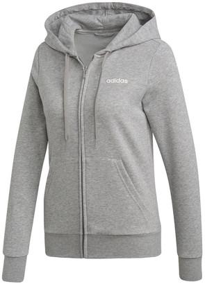 adidas Essentials Solid Full Zip Hoodie DU0664