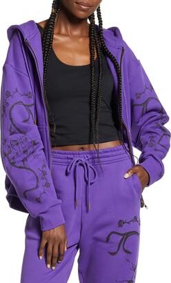 I.AM.GIA Astrea Oversize Zip Front Hoodie