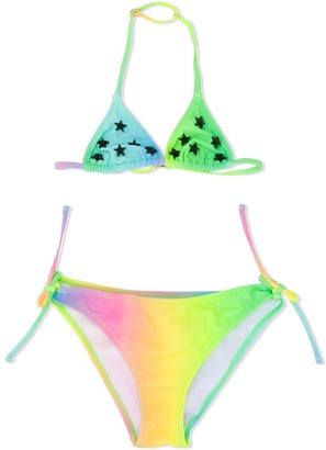 Mc2 Saint Barth Kids Holly ombre bikini