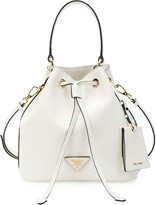 Prada Saffiano Bucket Bag w/ Removable Crossbody Strap