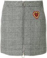 Ermanno Scervino plaid mini skirt