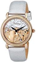 Stuhrling Original Women's 709.04 Vogue Eros Analog Display Swiss Quartz White Watch