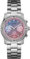 GUESS Blue and Pink Gradient Sport Watch