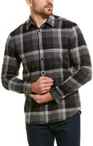 Theory Menlo Wool-Blend Woven Shirt