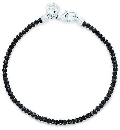 Tiffany & Co. Ziegfeld Collection:Black Spinel Bead Bracelet