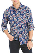 Daniel Cremieux Jeans Paisley Long-Sleeve Woven Shirt