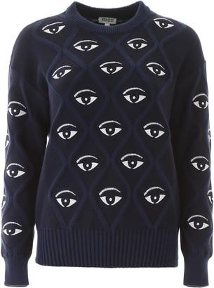 Kenzo All Over Eye Sweater