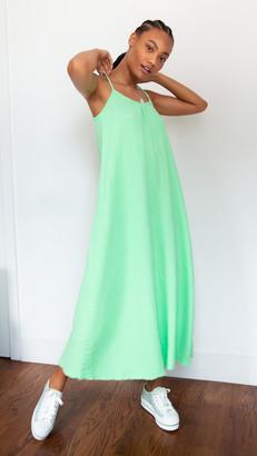 Nation Ltd. Lila Scoop Trapeze Gause Dress