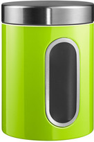 Wesco Kitchen Storage Canister with Window - Lime Green