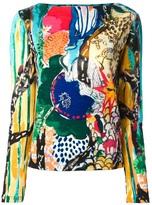 Tsumori Chisato patterned sweater