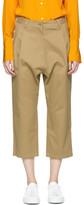 Studio Nicholson Tan Bonsai Trousers